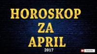Horoskop za April 2017