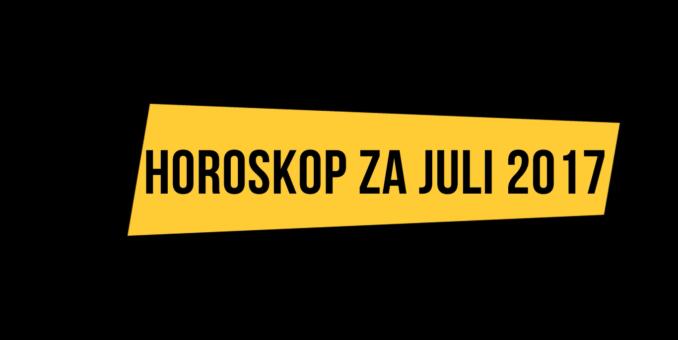 Horoskop za mjesec JULI 2017